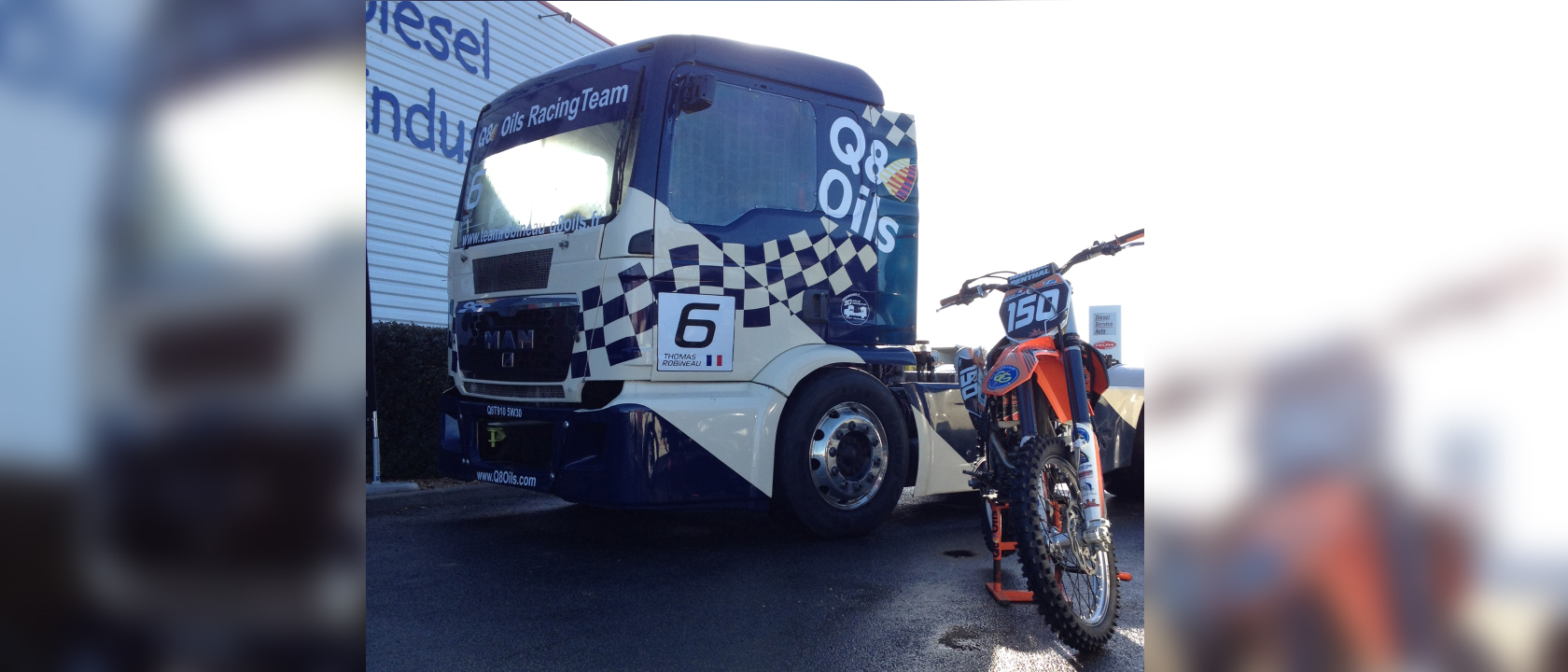 Camion Q8 Oils - ETS Guiliani